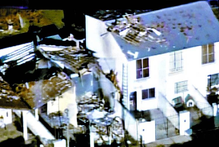 Destruccion-quedo-Roberto-Fernandez-explosion caso candela Hurlingham