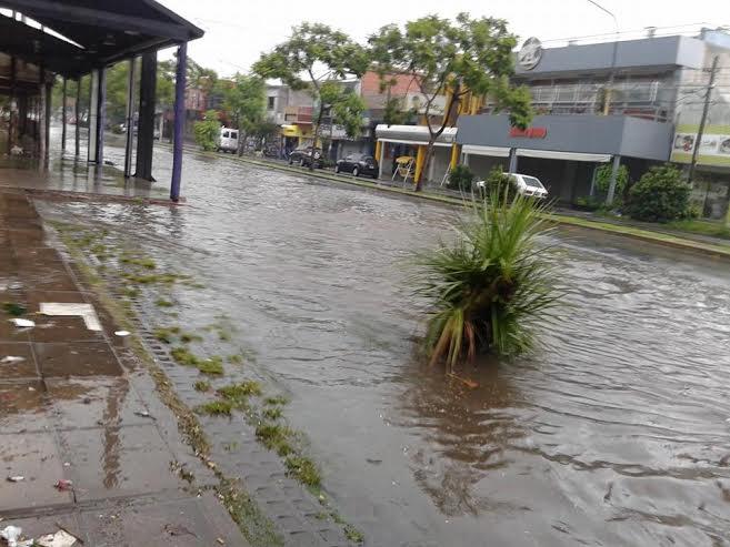 Hurlingham inundacion Roca
