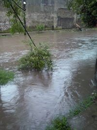 Hurlingham inundada