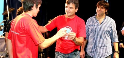 Juanchi Zabaleta y Diego Bossio Plan Progresar