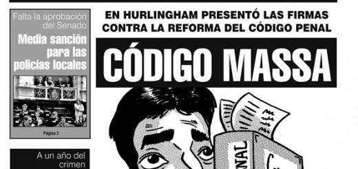 Firmas de Massa contra reforma del Código Penal