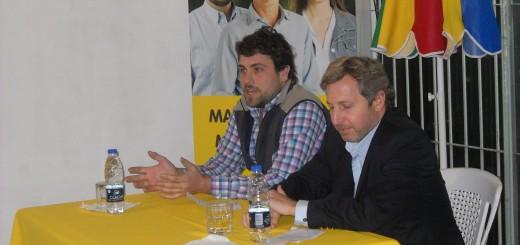 Rogelio Frigerio y Lucas Delfino en Hurlingham