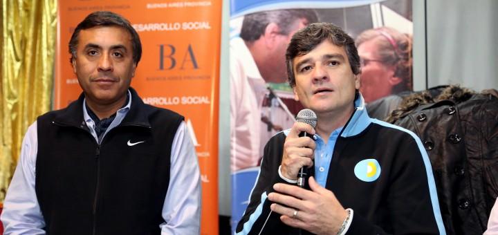 Juan Zabaleta y Eduardo Aparicio en Hurlingham