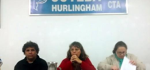 SUTEBA Hurlingham denuncia aguas contaminadas en escuelas