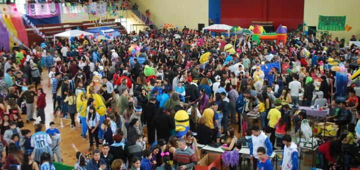 Kermesse integradora en Hurlingham