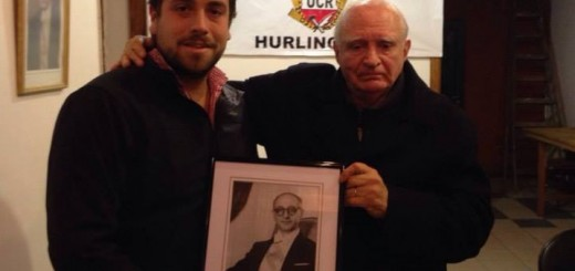 Lucas Delfino en el homenaje a Frondizi de al UCR Hurlingham