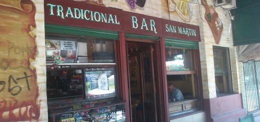 Bar San Martin de Hurlingham homenajeado