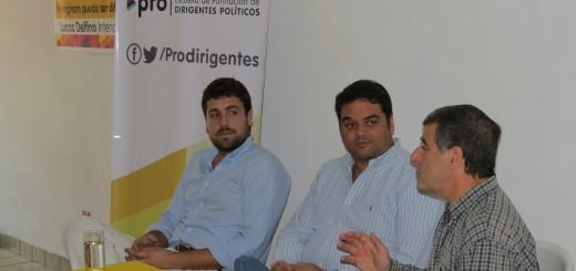 Lucas Delfino y Jorge Triaca en Hurlingham