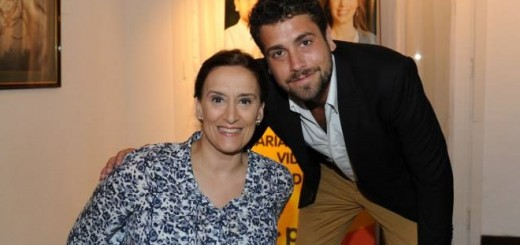 Lucas Delfino y Gabriela Michetti en Hurlingham