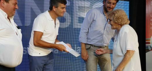 Juan Zabaleta y Rodrigo Ruete entrega de jubilaciones