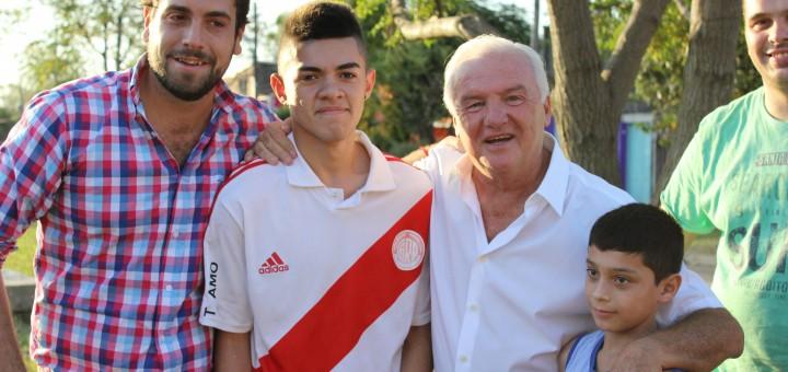 Lucas Delfino y Fernando Niembro en Hurlingham 1