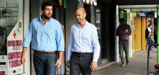 Guillermo Dietrich y Lucas Delfino