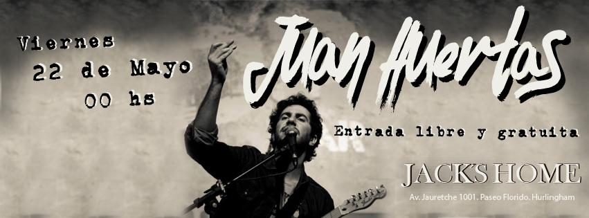 Juan Huertas toca en Hurlingham