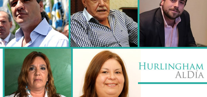 Candidatos a Intendentes de Hurlingham 2015 -1