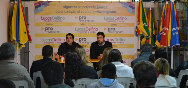 Carlos Melconian y Lucas Delfino en Hurlinghan