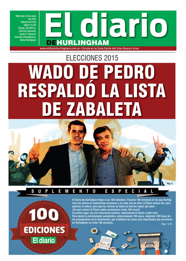 El Diario de Hurlingham 100