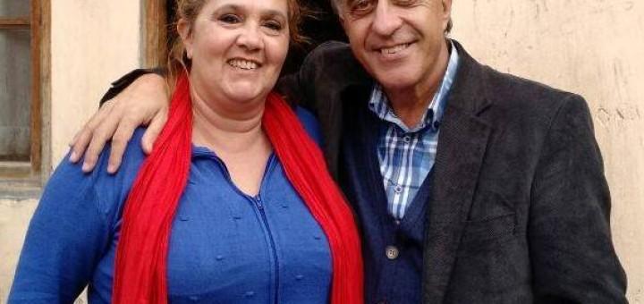 Estela Ramazoti y Nestor Pitrola