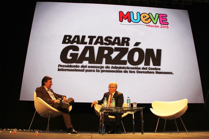 Mueve Morón 2015 - Baltasar Garzón