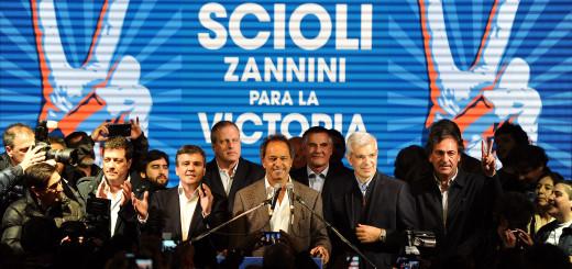 Scioli y Zabaleta 2