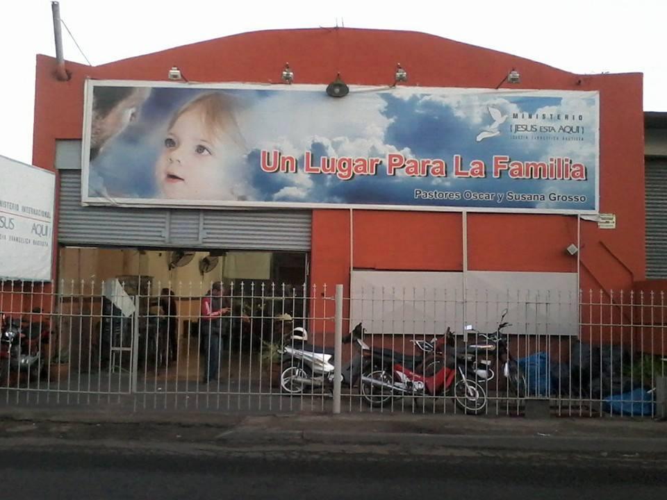 el templo del Pastor Oscar
