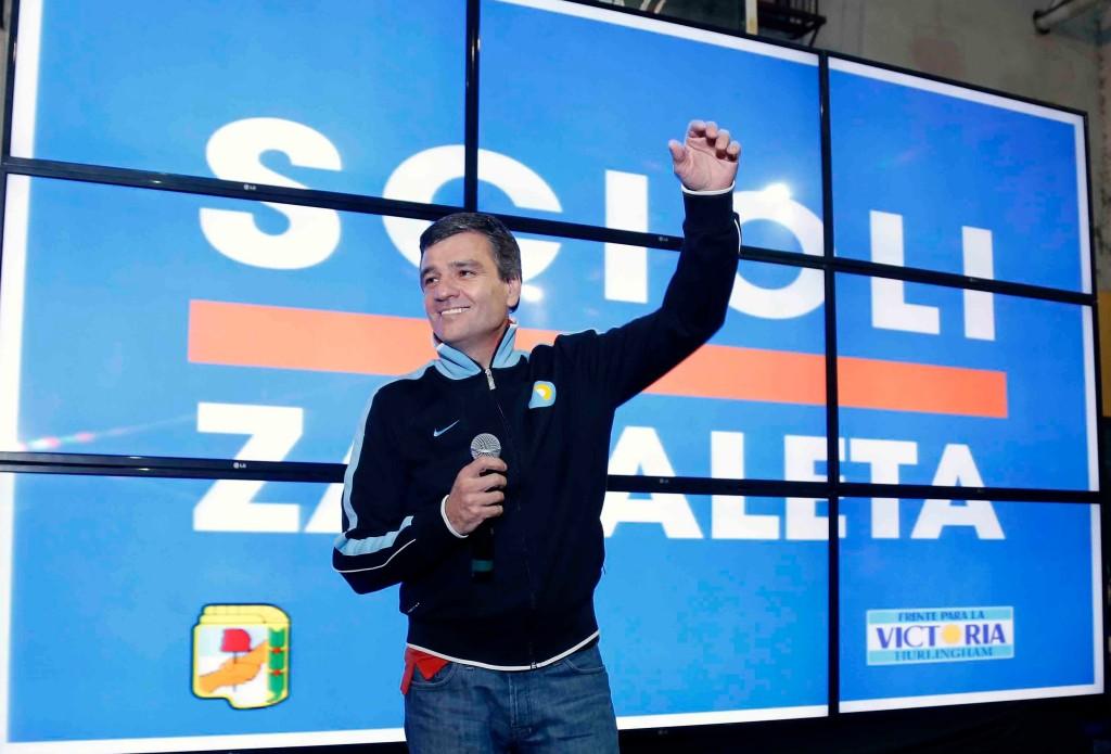 Juan Zabaleta ganador de las PASO 2015
