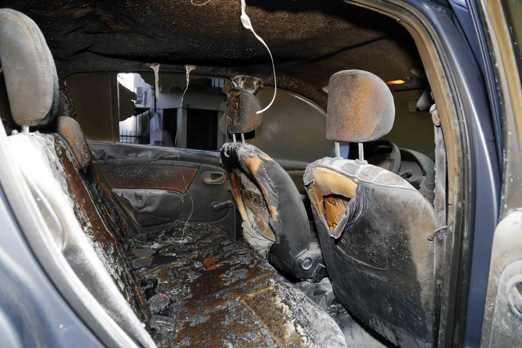 atentado con molotov en hurlingham 1
