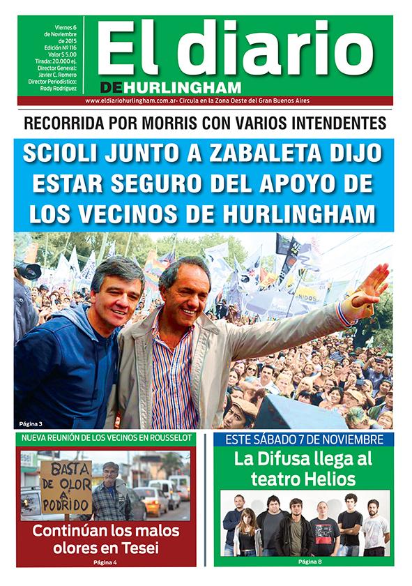 El Diario de Hurlingham 116