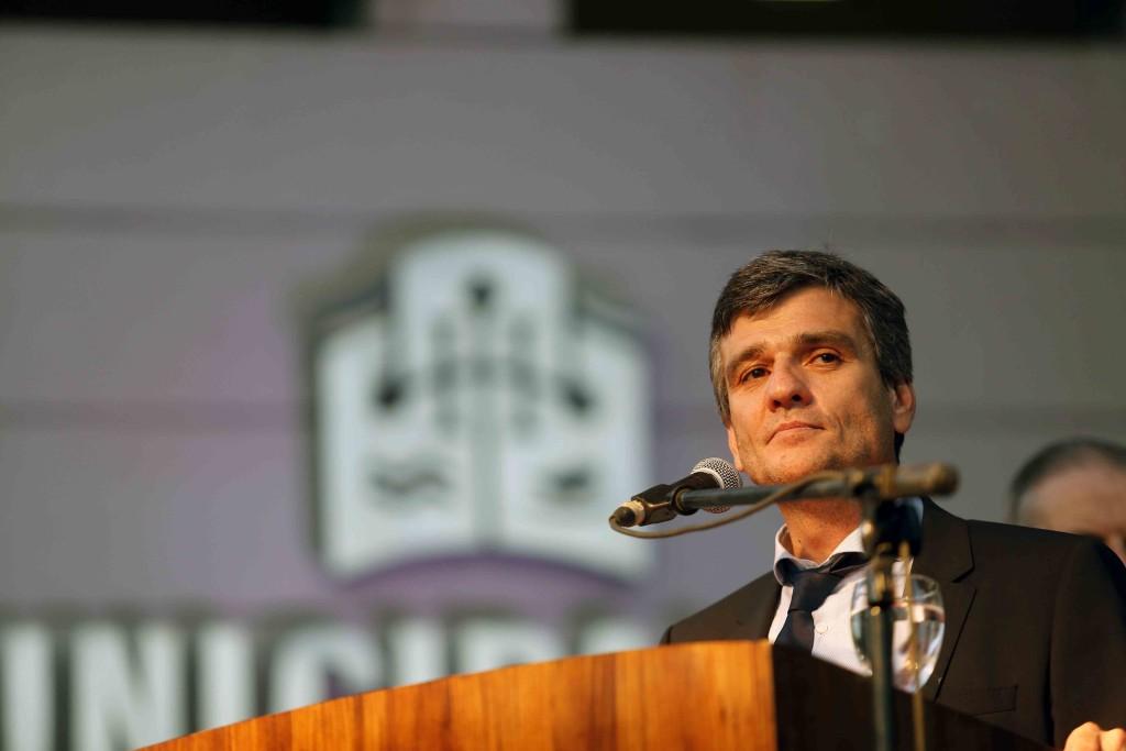 Juan Zabaleta intendente de Hurlingham