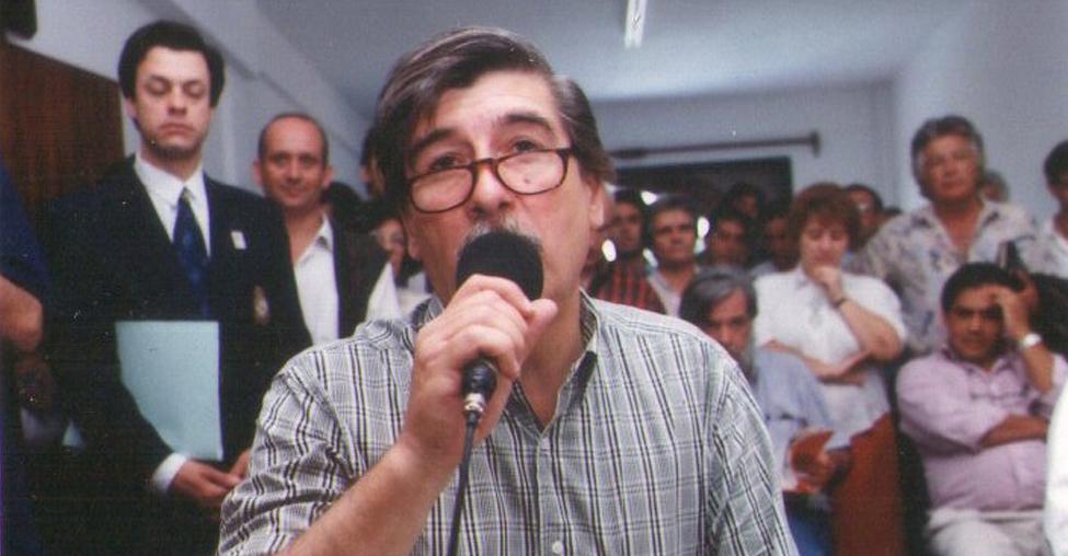 : Fernando Arnedo, fue el primer presidente del HCD en 1995