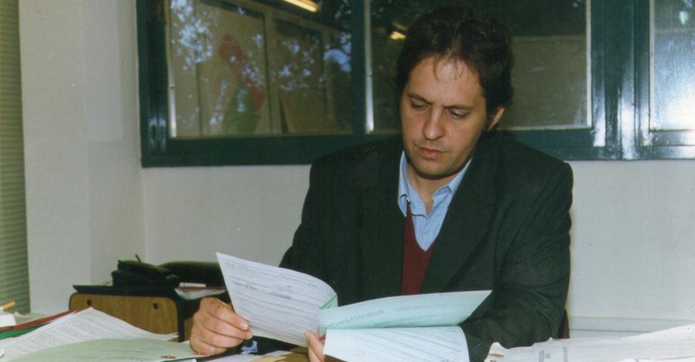 El acuñista Claudio Branda, siempre testimonial
