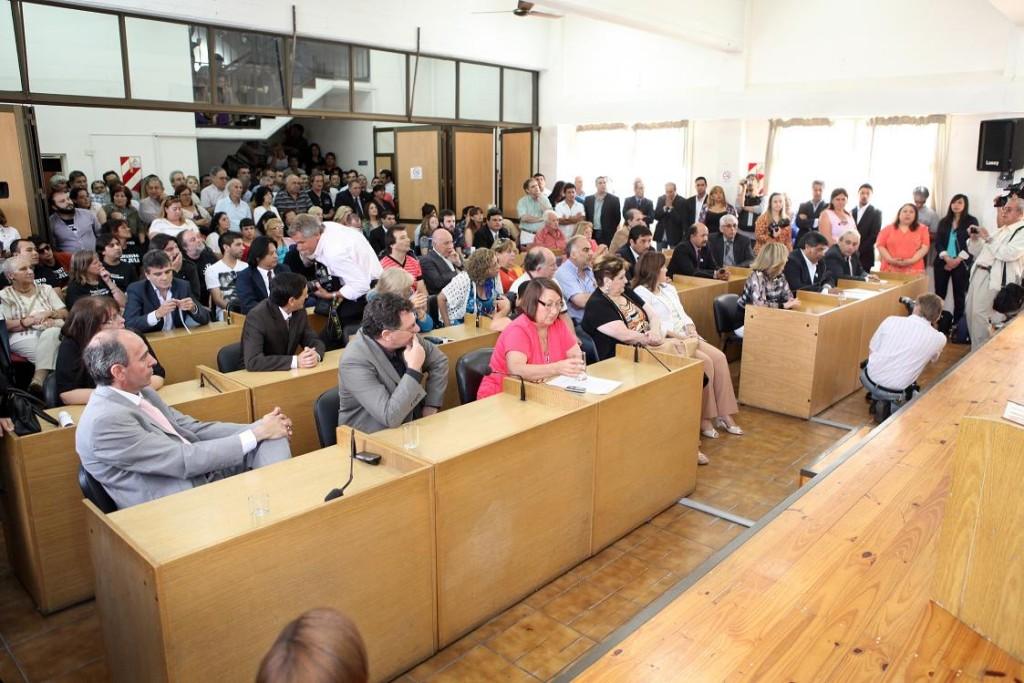 FOTO PRINCIPAL Asumieron los nuevos ediles en el Concejo Deliberante (1)