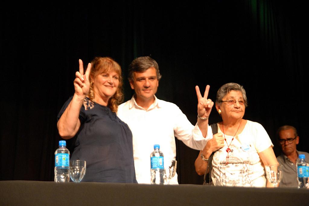 Odila Casella, Zabaleta e iris Avellaneda